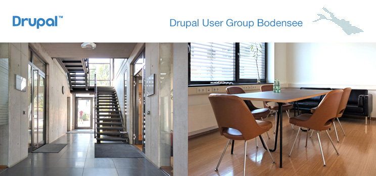Drupal User Group Bodensee, 1. Treffen 2016