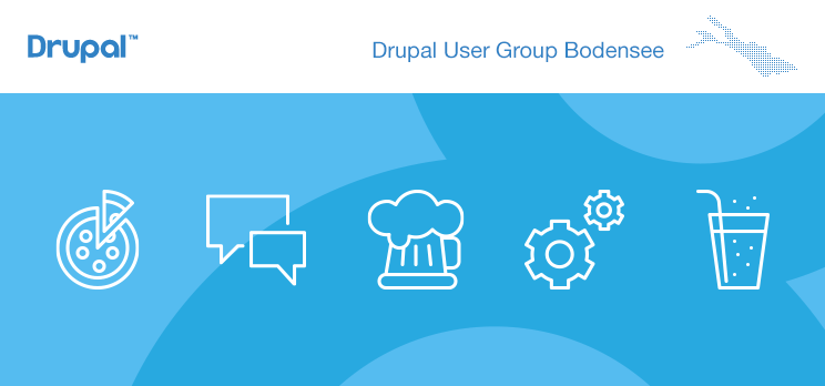 Drupal User Group Bodensee, 1. Treffen 2019 - Keyvisual