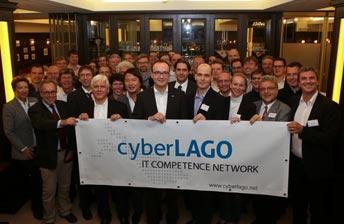 cyberLAGO - IT Kompetenz-Netzwerk Bodensee - Vereinsgründung Gruppenfoto