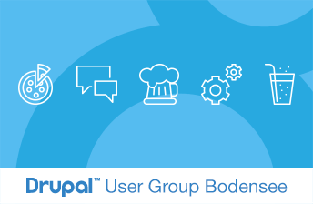Drupal User Group Bodensee, 1. Treffen 2018 - Keyvisual
