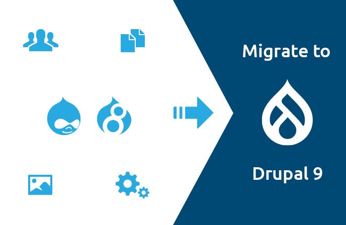 Drupal 7, Drupal 8 – Migration zu Drupal 9