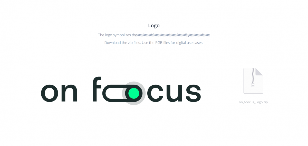 on-foocus Branding Design Development