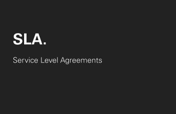 Drupal Service Level Agreements Matrix