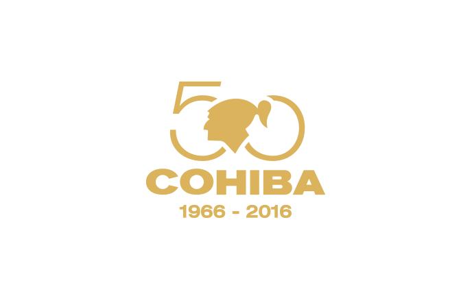 Cohiba 50th Anniversary Logo