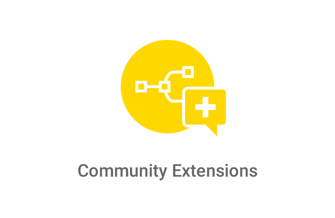 Community Extensions Logo