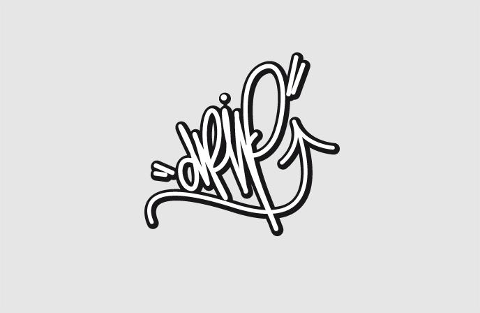 Logo Variante 2 Drip Walldesign