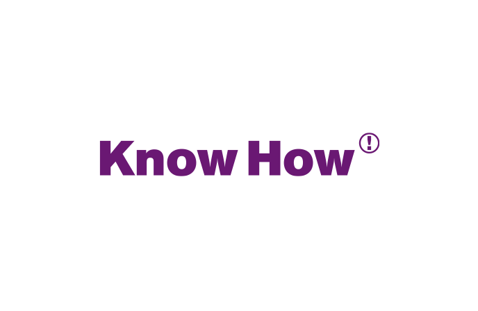 Logo Know How! AG