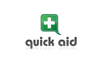 Logo Quick Aid auf weissem Hintergrund