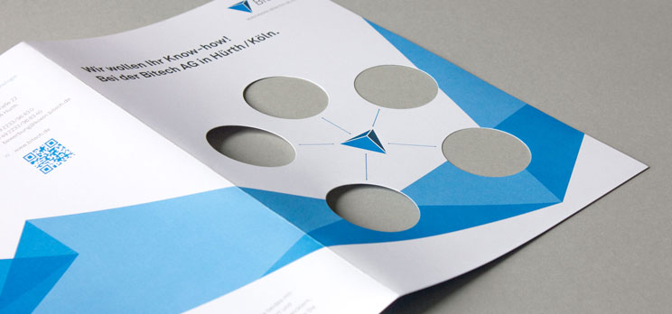 Einlageblatt für Bewerbermappe