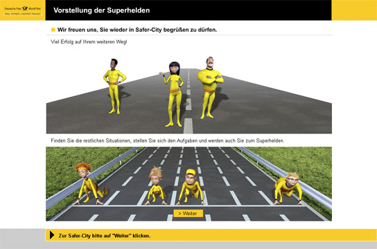 Screenshot Deutsche Post
