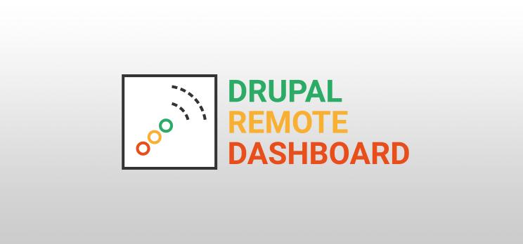 Drupal Remote Dashboard Logo
