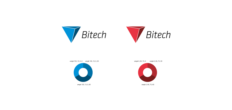 Logo – Corporate Design der Bitech AG Hürth