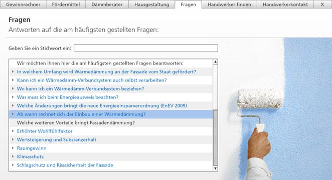 Screenshot Sto AG Bauherren Bereich und Web App Bauherren-Ratgeber