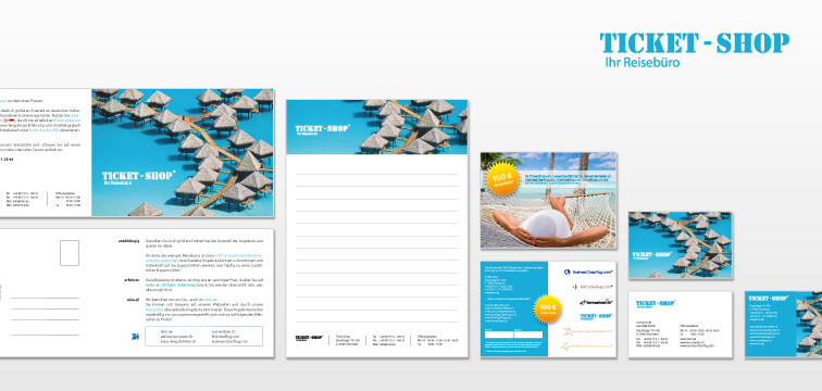 Corporate Design Ticket-Shop Konstanz