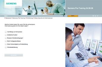 Screenshot Siemens