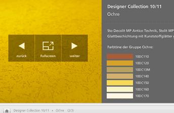 Interface Sto Designer Collection Viewer