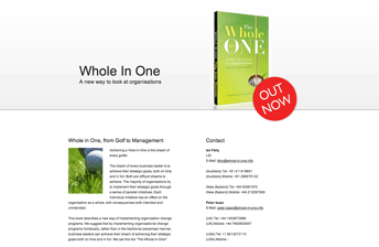 Screensot Book Promotion Website Whole-in-One