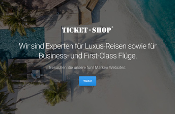 Re-Branding und Website für den Ticket-Shop
