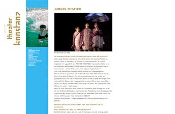 Website Theater Konstanz