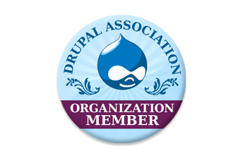 NOBORDER NOSHADOW Drupal Association Organization Membership Badge
