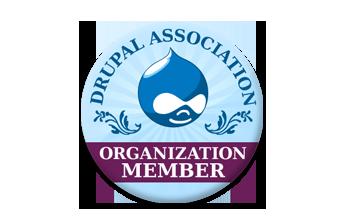 NOBORDER NOSHADOW Drupal Association Organization Membership Badge