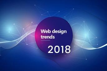 Teaser Bild zum Artikel Webdesign Trends 2018